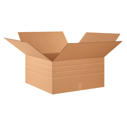 "24 x 24 x 12"" Multi-Depth Corrugated Boxes"
